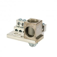 Nsi 1012M 12 Circuit Stacked Neutral W Main 225A Stacked Neutral Bar, 4-14 AWG 12 Circuits & 350 MCM - 6 AWG Main Lug Price For 1
