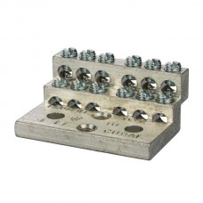 Nsi 1012 12 Circuit Stacked Neutral 225A Stacked Neutral Bar, 4-14 AWG 12 Circuits Price For 1