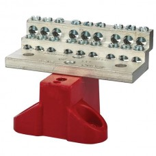 Nsi 1018B 18 Circuit Stacked C/W Base 225A Stacked Neutral Bar, 4-14 AWG 18 Circuits - With Mtg Base Price For 1