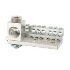 Nsi 1018M 18 Circuit Stacked Neutral 225A Stacked Neutral Bar, 4-14 AWG 18 Circuits & 350 MCM - 6 AWG Main Lug Price For 1