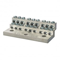 Nsi 1018 18 Circuit Stacked Neutral 225A Stacked Neutral Bar, 4-14 AWG 18 Circuits Price For 1