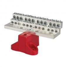Nsi 1024B 24 Circuit Stacked Neutral C/W 225A Stacked Neutral Bar, 4-14 AWG 24 Circuits - With Mtg Base Price For 1