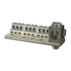 Nsi 1024M 24 Circuit Stacked Neutral 225A Stacked Neutral Bar, 4-14 AWG 24 Circuits & 350 MCM - 6 AWG Main Lug Price For 1