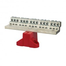 Nsi 1030B 30 Circuit Stacked Neutral 225A Stacked Neutral Bar, 4-14 AWG 30 Circuits - With Mtg Base Price For 1