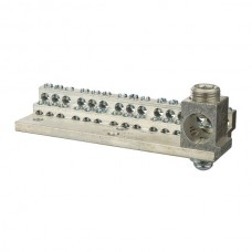 Nsi 1030M 30 Circuit Stacked Neutral 225A Stacked Neutral Bar, 4-14 AWG 30 Circuits & 350 MCM - 6 AWG Main Lug Price For 1