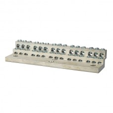 Nsi 1030 30 Circuit Stacked Neutral 225A Stacked Neutral Bar, 4-14 AWG 30 Circuits Price For 1
