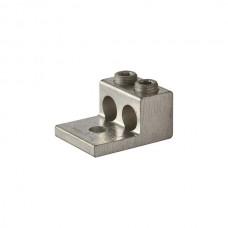 Nsi 2-2/0T Dual Rated Lug Two 2/0-14 Aluminum Double Lug (2) 2/0-14 AWG (Al/Cu) Price For 25