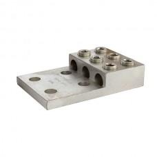 Nsi 3-600LL4 Transformer Lugs Aluminum Double Screw Lug (3) 600 MCM - 2 AWG  (Al/Cu) Price For 2