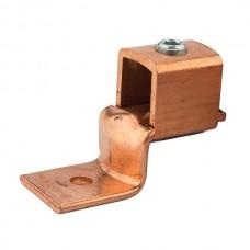 """Nsi DE709 1000-600 Cu Solderles Lug Copper Solderless Lug, 1000-600 MCM, 1/2"""" Mtg Hole Price For 2"""