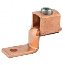 """Nsi DE710 350-1/0 Cu Solderless Lug Copper Solderless Lug, 350 MCM - 1/0 AWG, 3/8"""" Mtg Hole Price For 10"""