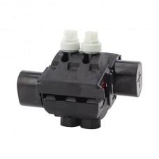 Nsi IPCS7550 Insulation Piercing Connector 750-500 MCM Insulation Piercing Connector 750-500 MCM 750-250 Main, 500-250 Tap, Dual Rated AL9CU, Torque Limiting Nut Price For 2
