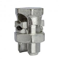 Nsi N-1000SP Copper Split Bolt 1000 Tin Plated 1000 MCM All Purpose Splt Blt Price For 2