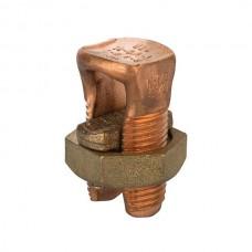 Nsi N-1/0 Copper Split Bolt 1/0 1/0 AWG Copper Split Bolt Price For 20