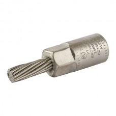 Nsi PT350 Aluminum Pin Terminal Cu Pin 350 MCM Bi Metallic Pin Terminal, 350 MCM Wire Size, 4/0 AWG Tin Plated STRanded Cooper Pin, BROWN Price For 10