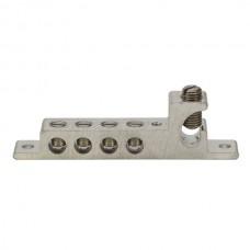 Nsi GBIAL-126-4414 Grounding Bonding Intersystem Aluminum Grounding Bonding Intersystem Aluminum (1)#2-#6 Main With (4)#4-#14Taps,  cULus Price For 1