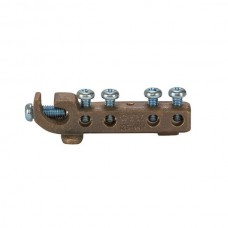 Nsi GBIBZ-126-4414 Grounding Bonding Intersystem Bronze Grounding Bonding Intersystem Bronze (1)#2-#6 Main With (4)#4-#14Taps,  cULus Price For 1