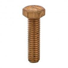 "Nsi HB505 Bronze Bolt 5/16X18 1 1/4 Bronze Bolt 5/16""X18 1 1/4"" Price For 25"