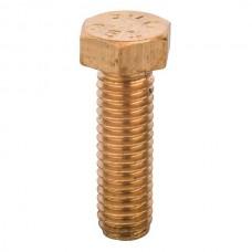 "Nsi HB605 Bronze Bolt 3/8 inch X 1-1/4 inch Bronze Bolt 3/8"" X1 1/4"" Price For 25"