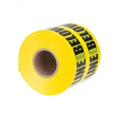 """Nsi ULT-626 6 inch Yellow  inchCaution Buried Electric Line inch 6"""" Yellow Underground Tape """"Caution Buried Electric Line Below"""" Price For 1"""