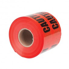 """Nsi ULT-627 6 inch Red  inchBuried Electric Line Below inch 6"""" Red Underground Line Tape """"Caution Buried Electric Line Below"""" Price For 1"""