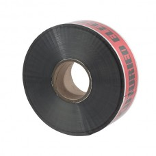 """Nsi ULTD-327 3 inch Red  inchBuried Electric Line Below inch 3"""" Red Detectable Underground Line Tape """"Caution Buried Electric Line Below"""" Price For 1"""
