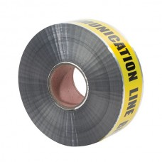 """Nsi ULTD-343 3 inch  Yellow inchBuried Comm. Line Below inch 3"""" Yellow Detectable Underground Line Tape """"Buried Communication Line Below"""" Price For 1"""