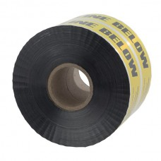 """Nsi ULTD-626 6 inch Yellow  inchBuried Electric Line Below inch 6"""" Yellow Detectable Underground Line Tape """"Buried Electric Line Below"""" Price For 1"""