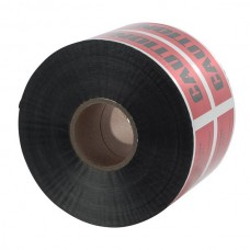 """Nsi ULTD-627 6 inch  Red  inchBuried Elec. Line Below inch 6"""" Red Detectable Underground Line Tape """"Buried Electric Line Below"""" Price For 1"""