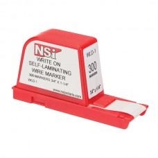 Nsi WLD-1 Write-On Wire Marker Dispenser 300 Write-On Wire Marker Dispenser 300 Labels Price For 1