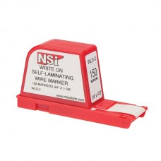 Nsi WLD-2 Write-On Wire Marker Dispenser 150 Write-On Wire Marker Dispenser 150 Labels Price For 1