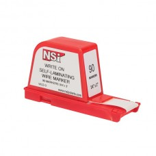 Nsi WLD-3 Write-On Wire Marker Dispenser 90 Write-On Wire Marker Dispenser 90 Labels Price For 1