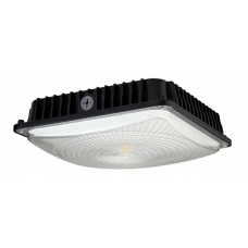 A&A - CP45W27V50KYY - LED Canopy - 100-277V - 45 Watt - 4149 Lumens - 5000K Daylight - Black - cUL & DLC Listed