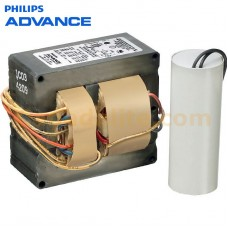Philips Advance 71A55A3500D - 175W - Pulse Start - MH Ballast - 3-Tap - 120/277/347V - ANSI M137/M152