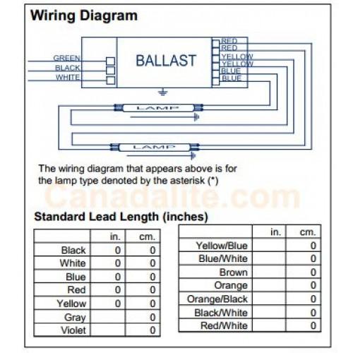 philips advance icn 2s39 35m 40w 1 x ft40w 2g11 rs ballast programmed start 120 277v
