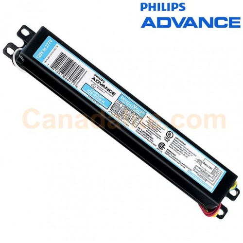 philips advance 498394 icn 2s54 90cn 35m 54w 1 2 x f54t5 ho ballasts programmed start