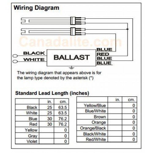 4 pin compact fluorescent wiring diagram 4 pin fluorescent
