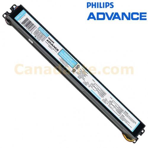 philips advance 176965 icn 4s54 90c 2ls 35m terminals 49w 4 l f49t5 ho ballasts