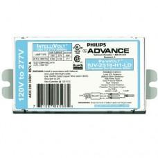 Philips Advance IUV-2S18-H1-LD - 1(2) Lamp -18W - CFL Program Start Germicidal UV  Ballast - 120/277V