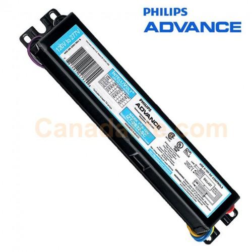 philips advance 496463 izt 2s32 sc 35m 32w 2 l f32t8 dimming ballasts programmed