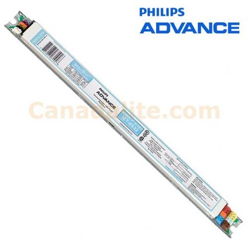 philips advance 114637 izt 4s32 32w 4 l f32t8 dimming ballasts programmed start