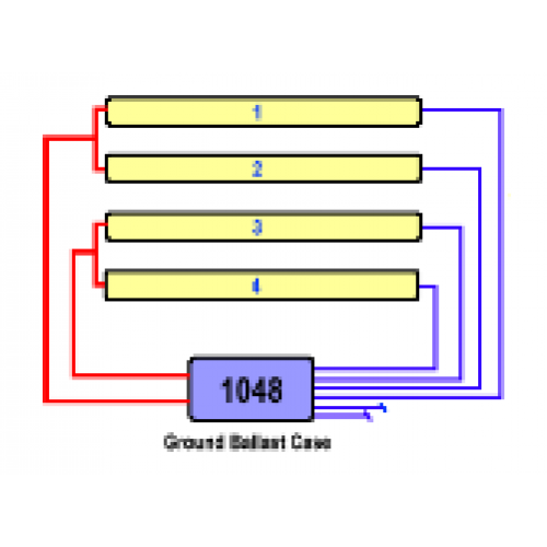 EESB 1048 26L four lamp wiring 500x500 allanson eesb 1048 26l 120 277v electronic fluorescent sign ballast sign ballast wiring diagram at virtualis.co