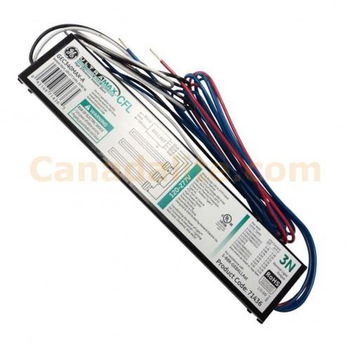 Ge Metal Halide Lamps Sds: CFL UltraMax™ Electronic Ballast