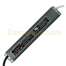 Tauras - VB-12030D018 - Waterproof LED Transformer - AC/DC Trnasformer - 12V 30W LED Driver [possible sub <a href='https://www.canadalite.com/Meanwell-LPV-35-12-LED-Driver-LED-Transformer?search=lpv-35-12'  >LPV-35-12</a>]