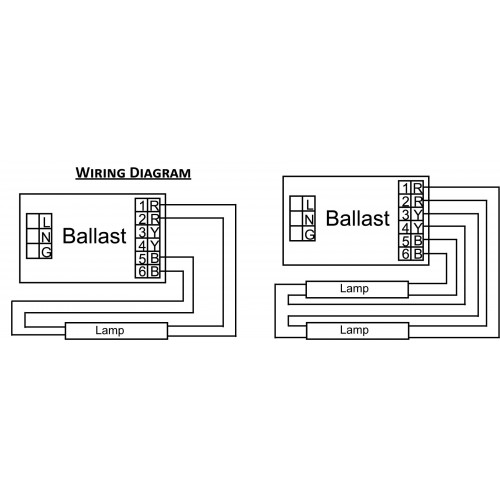 3 Lamp Ballast Wire Diagram