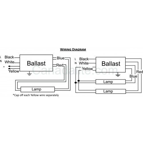 rapid start electronic ballasts wiring diagrams t12 high output rh autonomia co 4 Tube Ballast Wiring Advance T8 Ballast Wiring Diagram