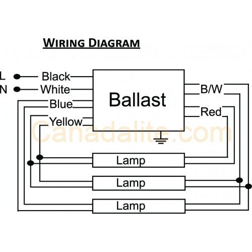 Wiring Diagram PR332 500x500 ultrasave pr332347 3 lamp f32t8 electronic fluorescent rapid start ballast wiring diagram at eliteediting.co