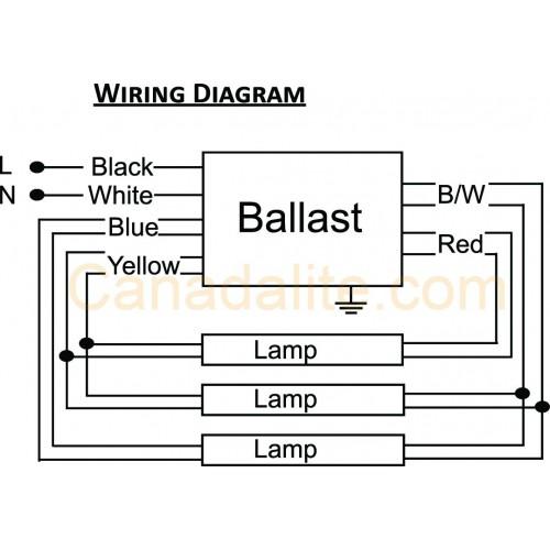 Ultrasave Pr332120m -  3  Lamp - F17t8 - Electronic Fluorescent Ballast 120  277v