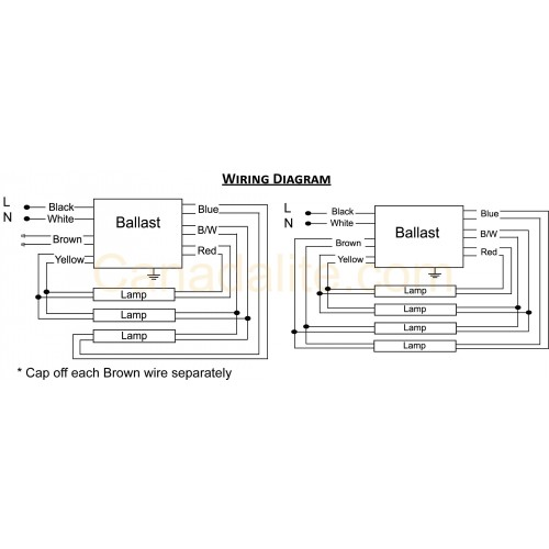 dimming ballast wiring diagram