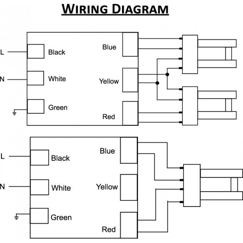 wiring diagram 4 pin cfl socket