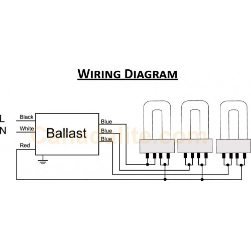 2 lamp ballast wiring diagram